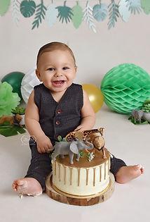 1 Cake Smash baby Fotoshoot overijssel f