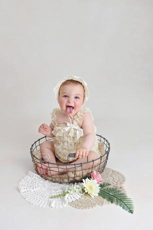 6 sitter sessie baby fotoshoot fotografi