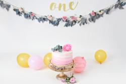 boho cake smash taart bloemen inspiratie naturel licht fotoshoot nederland