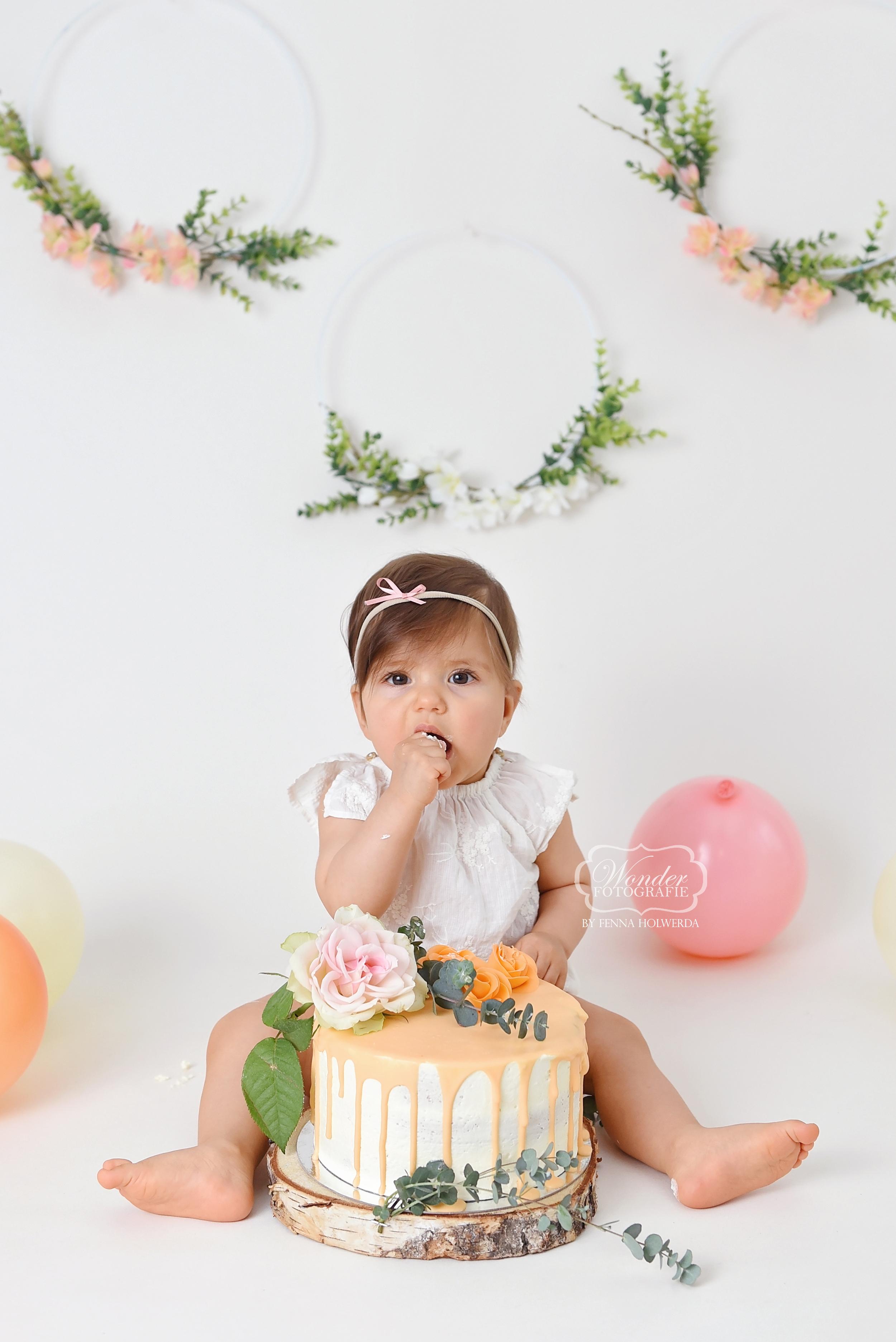 4 Boho Cake Smash Fotoshoot fotografie b