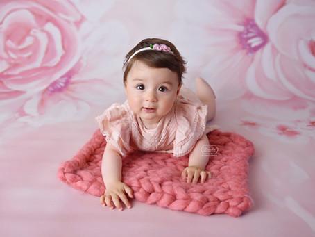 Baby Fotoshoot tussen de 5 en 10 maanden