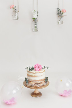 meisje Boho cake smash taart cake smash fotoshoot photo shoot beautiful