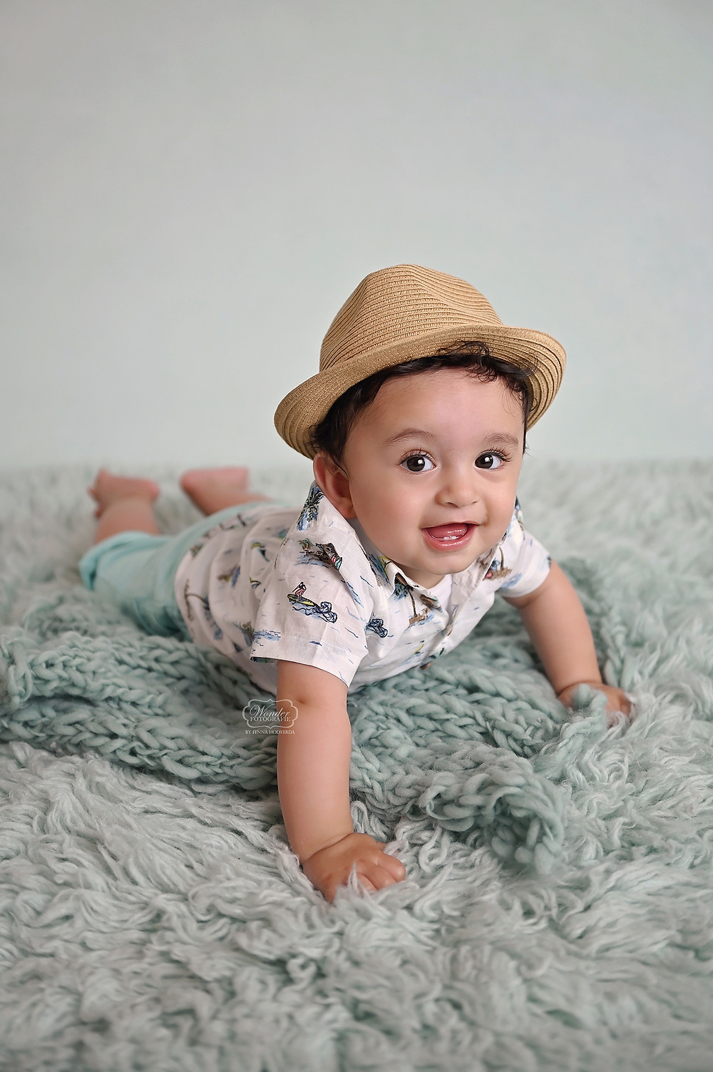 Baby fotoshoot shoot sitter sessie naturel boho studio overijssel friesland noord nederland