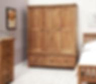 Шкафы для одежды кантри