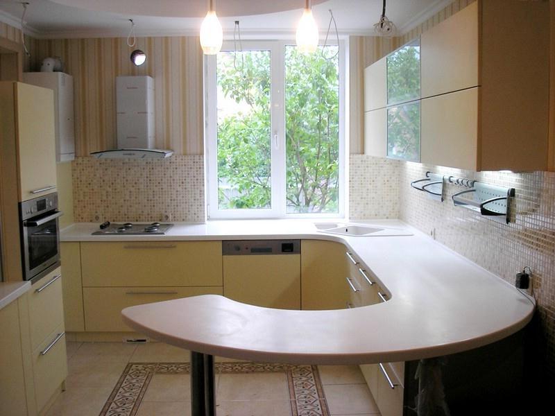 """Уютная кухня цвета """"Ваниль"""""""
