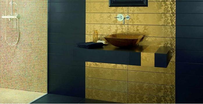 Облицовочные материалы для ванной комнаты