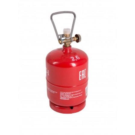 Купить туристический газовый баллон BT-1 2,4 литра