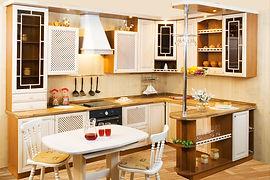Кухни с барной стойкой