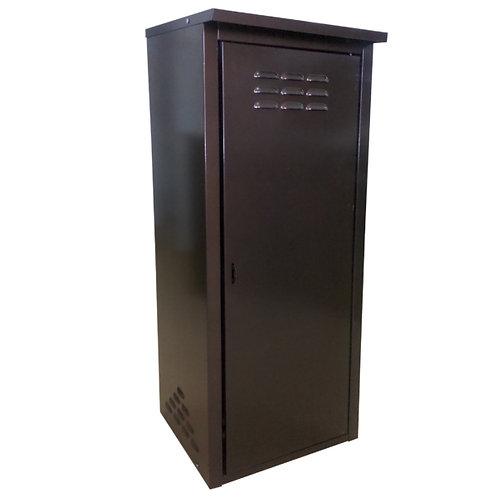 Купить шкаф для газового баллона одинарный коричневый