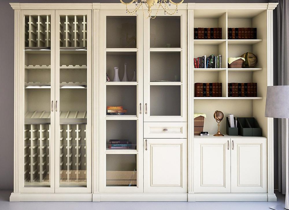 Шкафы для книг на заказ