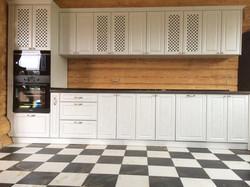 Прямая кухня для дома, Вид 1