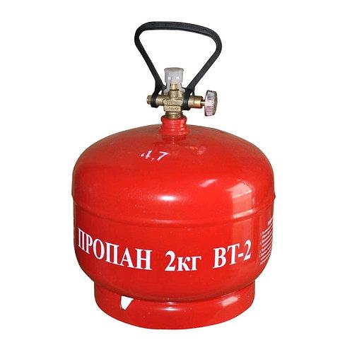 Купить туристический газовый баллон BT-2 4,8 литра