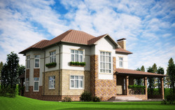 Проектирование дома из блока