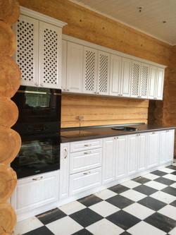 Прямая кухня для дома, Вид 2