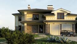 Проектирование экстерьера дома