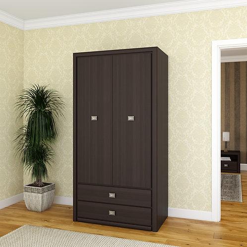 Распашной шкаф Ориан темный