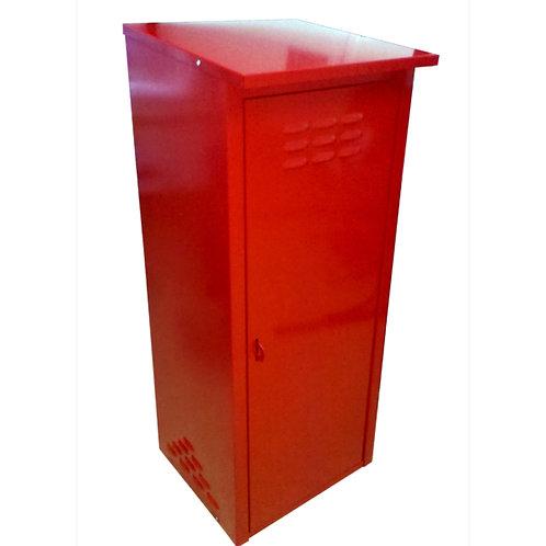 Купить шкаф для газового баллона одинарный красный