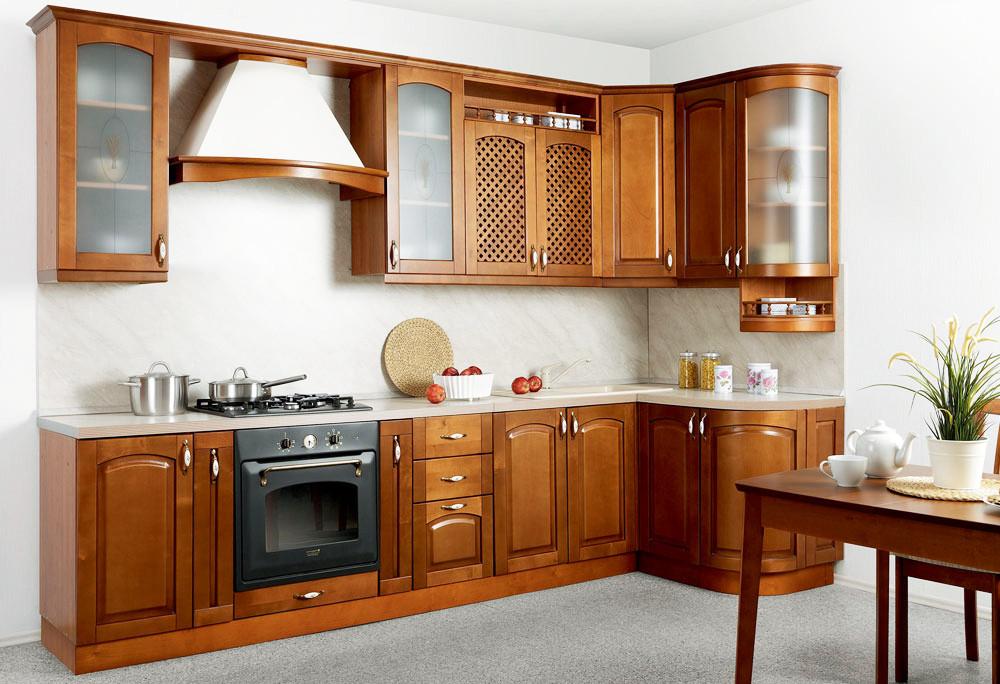 Виды и типы кухонных гарнитуров