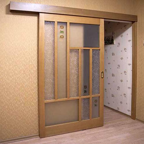 Дверь-купе из шпонированной МДФ