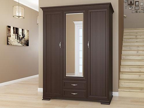Распашной шкаф Палаццо 3 темный