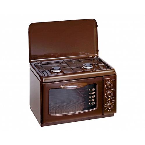 Купить газовую плиту настольную GEFEST ПГЭ 120 К19 с электрической духовкой