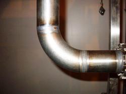 Сварка стальной трубы