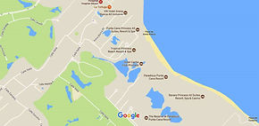 Mapa de ubicacion del Troicl Princess Beach Resort & Spa