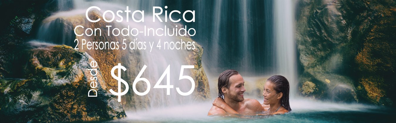 Costa Rica vacaciones all inclusive