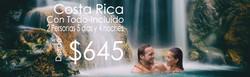 Costa Rica vacaciones all inclusive