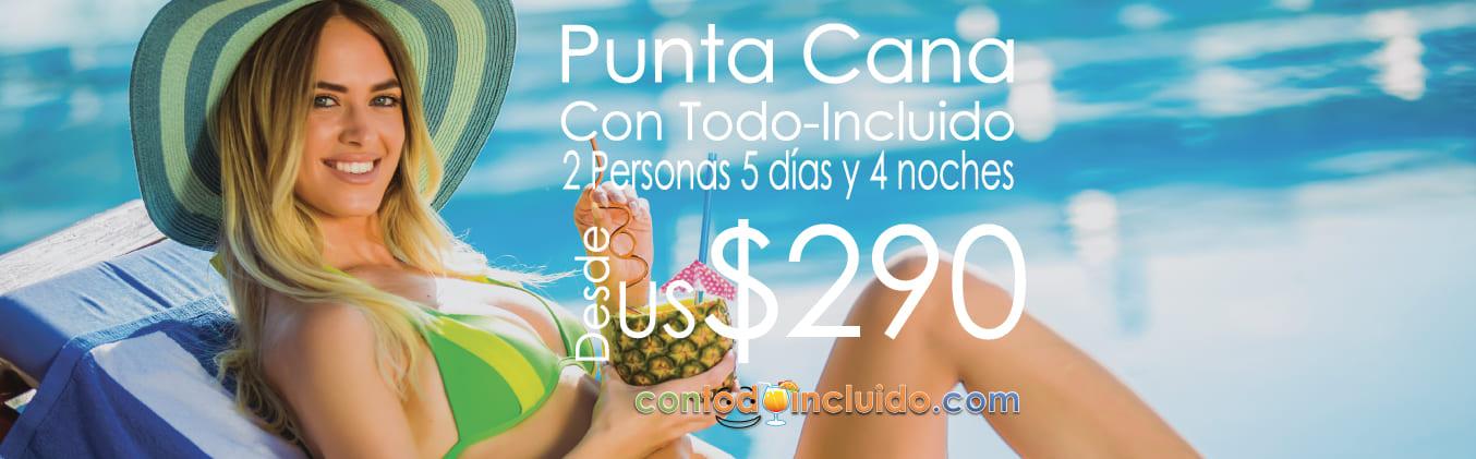 Vacaciones Todo Incluido Punta Cana