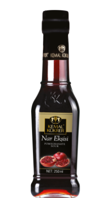 Kemal Kukrer Pomegranate Sour Sauce  250 ml صلصة الرمان \ عبوة زجاج