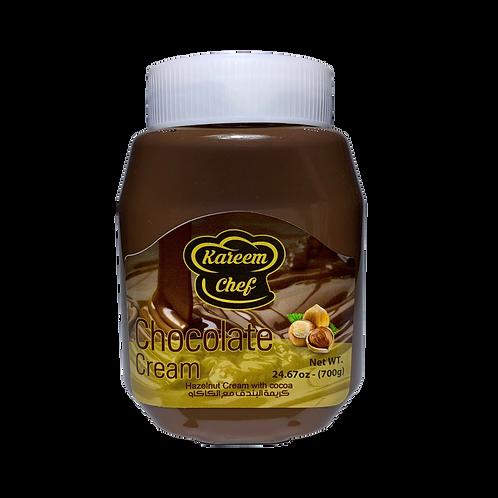 KareemChef Hazelnut Cream W/Chocolate |700 g|شوكولا كريمة البندق