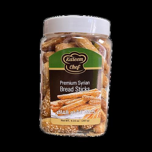 KareemChef Sesame Syrian Breadsticks|265 g|كعك الشام الأصلي بالسمسم