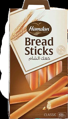 Hamdan Breadsticks Classic 400 g كعك الشام سادة