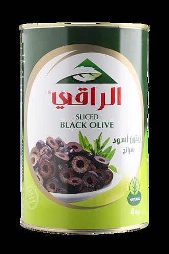 Al Raky Black Olive Slides |4400 g|زيتون اسود شرائح