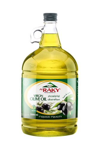 Al Raky Virgin Olive Oil |2800 ml|زيت زيتون بكر نوع أول