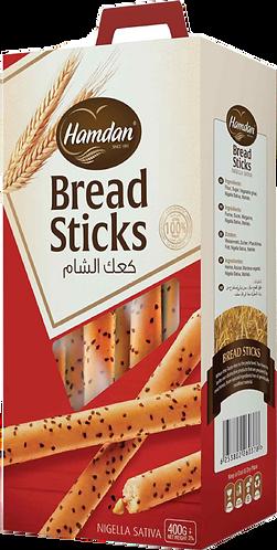 Hamdan Breadsticks Nigella|400 g|كعك الشام حب البركة
