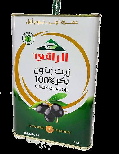 Al Raky Virgin Olive Oil |3 L|زيت زيتون بكر نوع أول