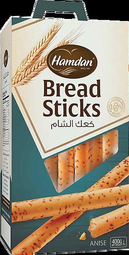 Hamdan Breadsticks Anise  400 g كعك الشام يانسون