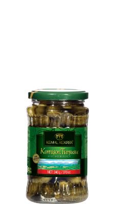 Kemal Kukrer Cucumber Pickles |370 ml|مخلل الخيار  \ عبوة زجاج