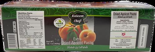 KareemChef Dried Apricot Paste (Candy) 400 g قمر الدين  (ملفوفة)