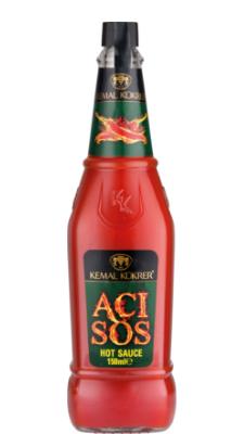 Kemal Kukrer Hot Sauce |150 ml|صلصة الحار\عبوة زجاج