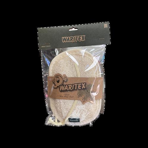WARITEX Natural Oval Body Sponge|1 Pcs|ليفة حمام طبيعي / بيضوي