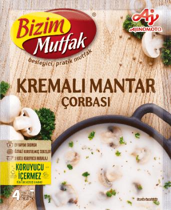 Bizim Mutfak Soup Mushroom |65 g|شوربة كريم الفطر