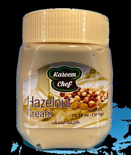 KareemChef Hazelnut Cream 300 g كريمة البندق
