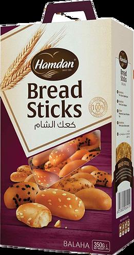 Hamdan Breadsticks Sesame Balaha|400 g|كعك الشام بلحة بالسمسم