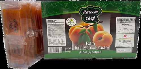 KareemChef Dried Apricot Paste (Cupes)|900 g|قمر الدين ( قطع مربعة)
