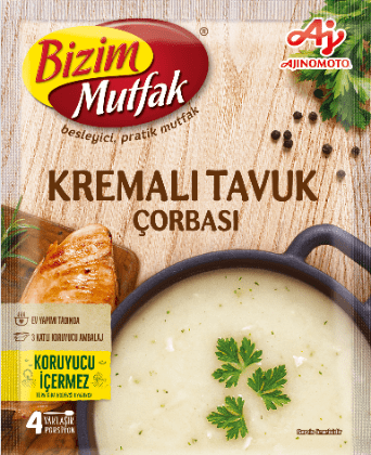 Bizim Mutfak Soup Chicken |65 g|شوربة  كريم الدجاج