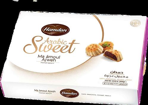 Hamdan Maamoul Ajwa 20 g معمول التمر التمر الفاخر