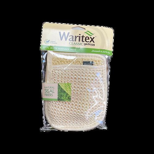 WARITEX Sisal Mitt  Body Sponge|1 Pcs|ليفة حمام سيسال / كف